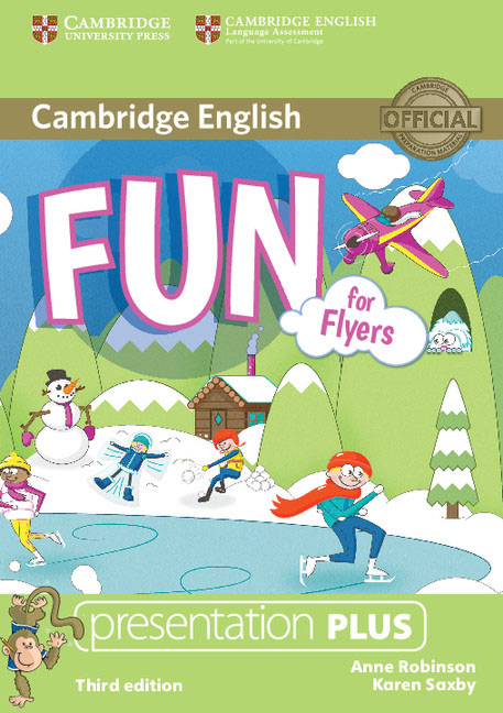 Cambridge English: Fun for Flyers Presentation Plus (DVD-ROM) new white wifi antenna 2 4 ghz 5dbi n male wireless wlan white floding omni aerial