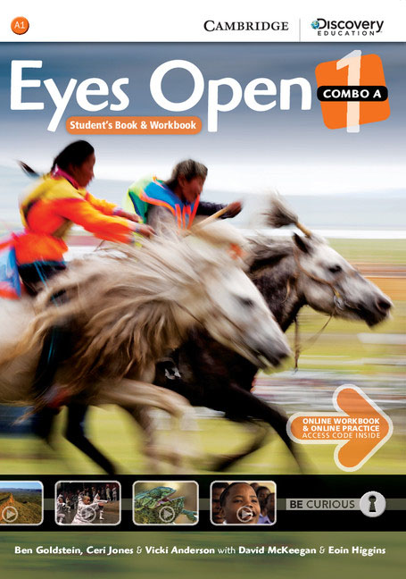 Eyes Open Level 1 Combo A with Online Workbook and Online Practice