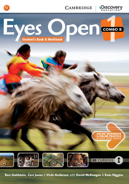 Eyes Open Level 1 Combo B with Online Workbook and Online Practice eyes open 3 student s book with online workbook and online practice