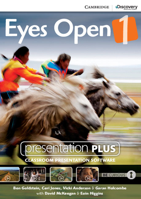 Eyes Open Level 1 Presentation Plus DVD-ROM eyes open level 1 workbook with online practice