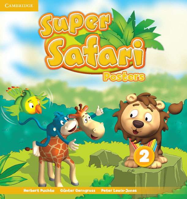 Super Safari Level 2 Posters (10) super safari level 2 class audio cds 2
