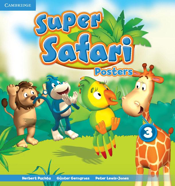 Super Safari Level 3 Posters (10) super safari level 2 posters 10