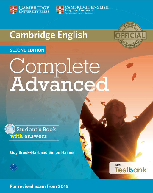 Complete Advanced Student's Book with Answers with CD-ROM with Testbank cambridge english complete advanced student s book without answers cd rom
