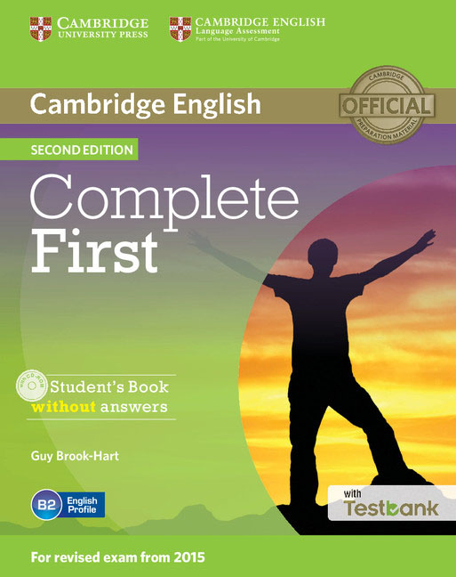 Complete First Student's Book without Answers with CD-ROM with Testbank complete first 2 edition student s book without answers cd rom