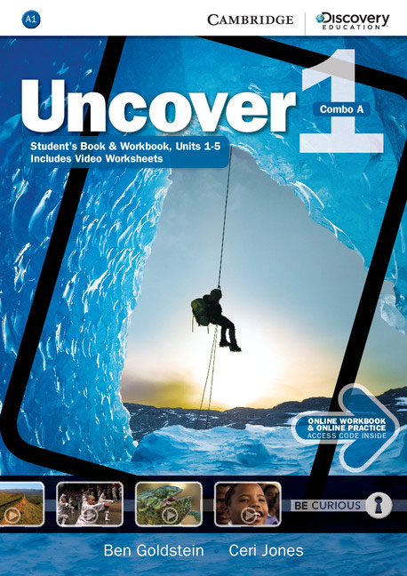 Uncover Level 1 Combo A with Online Workbook and Online Practice eyes open level 1 student s book with online workbook and online practice
