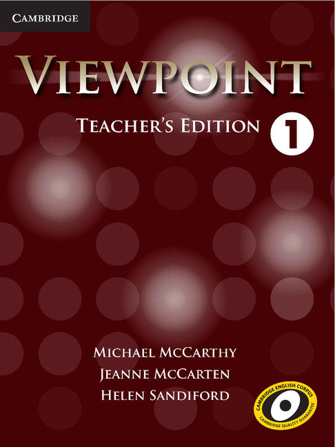 Viewpoint Level 1 Teacher's Edition with Assessment Audio CD/CD-ROM cd диск running wild best of adrian 1 cd page 4