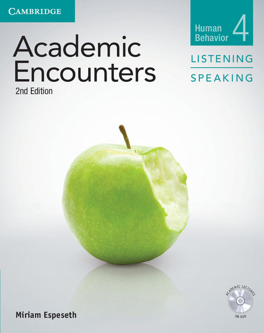 Academic Encounters Level 4 Student's Book Listening and Speaking with DVD three academic databases with arabic language content