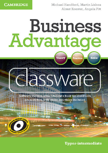 Business Advantage Upper-intermediate Classware DVD-ROM ready for fce upper intermediate teacher s book