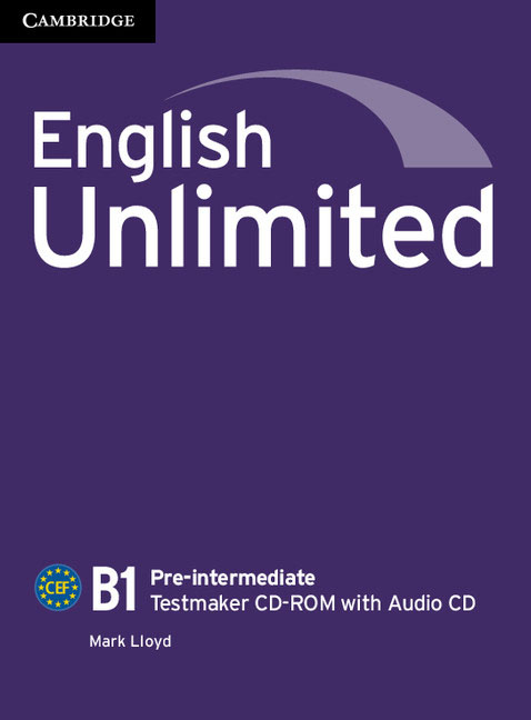 English Unlimited Pre-intermediate Testmaker CD-ROM and Audio CD young learners english practice tests flyers dvd rom