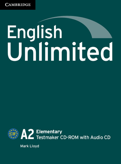 English Unlimited Elementary Testmaker CD-ROM and Audio CD link up elementary tests