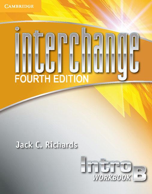 Interchange Intro Workbook B understanding and using english grammar workbook volume b