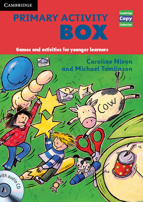 Primary Activity Box Book and Audio CD team up starter 1 test resource audio cd test maker cd rom