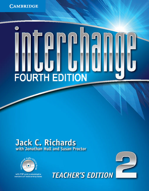 Interchange: Level 2: Teacher's Edition (+ CD-ROM) kid s box levels 1 2 tests cd rom and audio cd