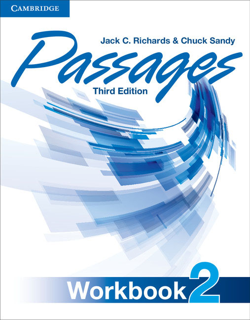 Passages Level 2 Workbook understanding and using english grammar workbook