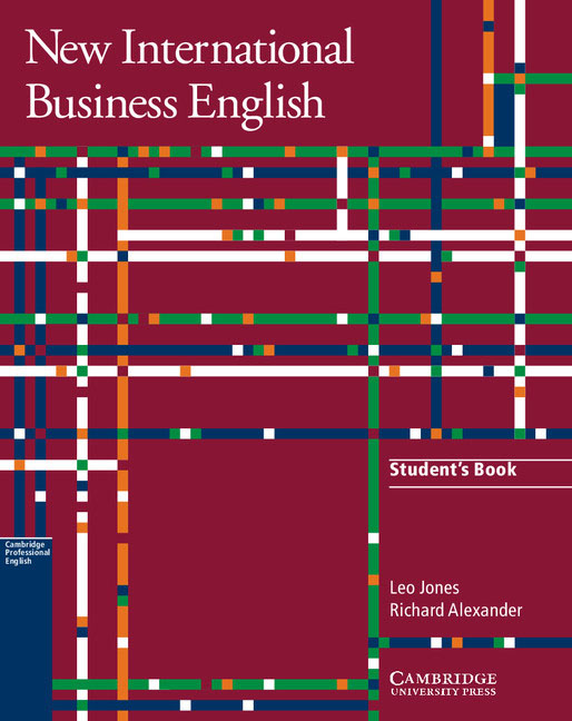 New International Business English Student's Book driscoll l cambridge english skills real reading 3 with answers