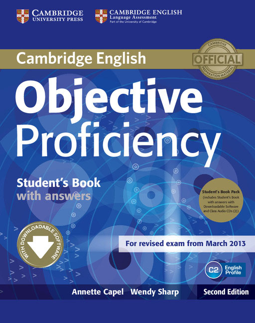 Objective Proficiency Student's Book Pack (Student's Book with Answers with Downloadable Software and Class Audio CDs (2)) cambridge english empower advanced student s book c1