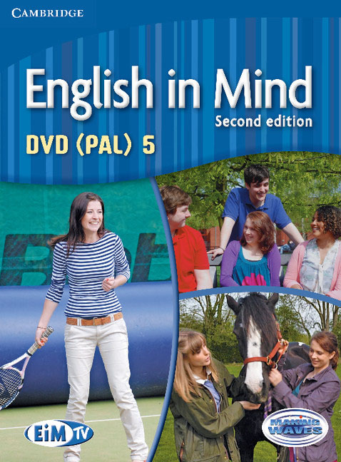 English in Mind Level 5 DVD (PAL) morris c flash on english for tourism second edition