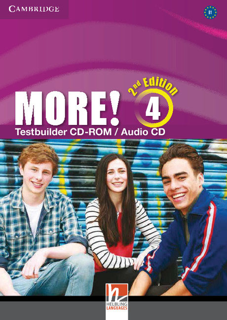 More! Level 4 Testbuilder CD-ROM/Audio CD summer sounds 1 beginner elementary with cd rom audio cd