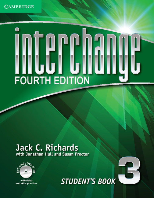 Interchange: Level 3: Student's Book (+ DVD-ROM) цветкова татьяна константиновна english grammar practice учебное пособие