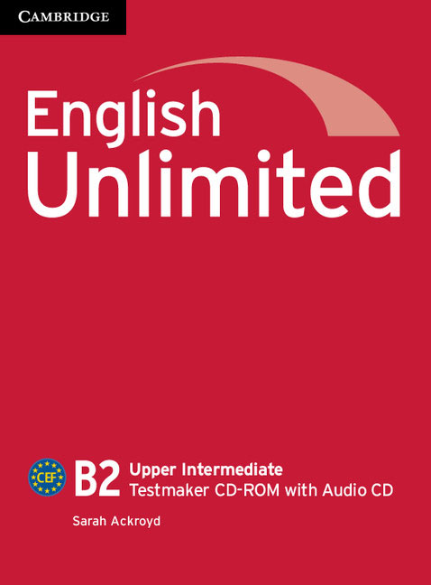 English Unlimited Upper Intermediate Testmaker CD-ROM and Audio CD young learners english practice tests flyers dvd rom