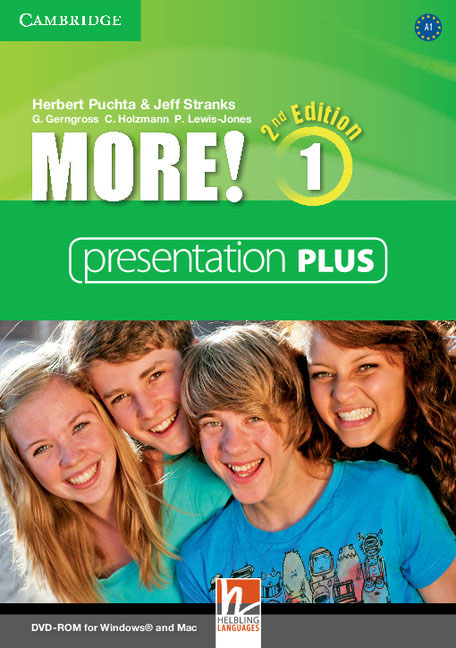 More! Level 1 Presentation Plus DVD-ROM jeremy osborn html5 digital classroom book and video training