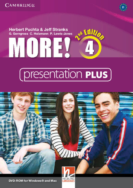 More! Level 4 Presentation Plus DVD-ROM eyes open 3 presentation plus dvd rom