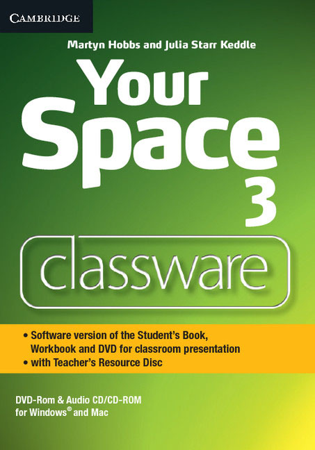 Your Space Level 3 Classware DVD-ROM with Teacher's Resource Disc american more level 3 workbook with audio cd