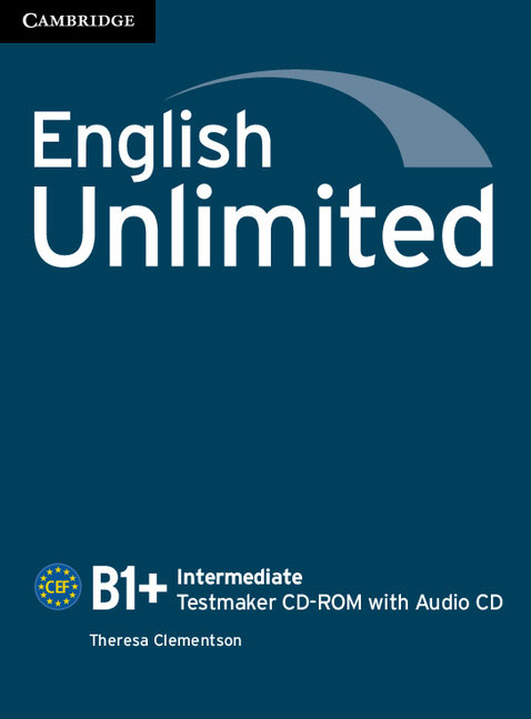 English Unlimited Intermediate Testmaker CD-ROM and Audio CD team up 1 2 test resource audio cd test maker cd rom