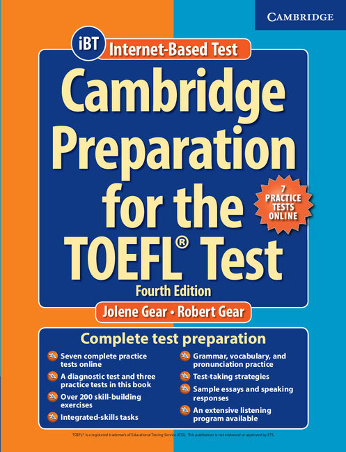 Cambridge Preparation for the TOEFL Test: Book with Online Practice Tests and Audio CDs (8) Pack longman introductory course for the toefl test the paper test audio cds