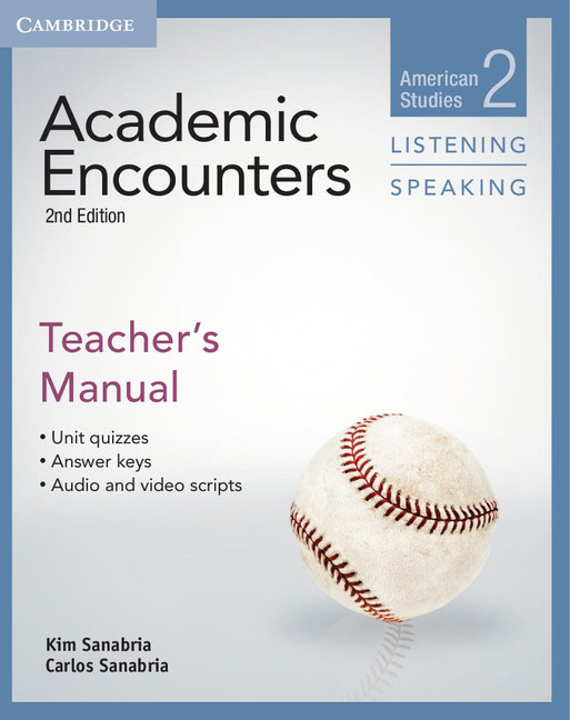 Academic Encounters Level 2 Teacher's Manual Listening and Speaking contemporary topics 2 high intermediate academic listening and note taking skills dvd