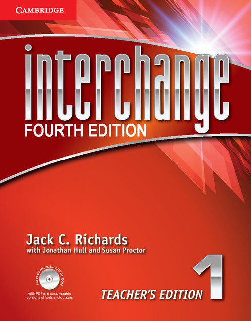 Interchange: Level 1: Teacher's Edition (+ CD/CD-ROM) kid s box levels 1 2 tests cd rom and audio cd