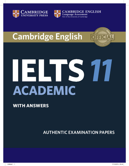 Cambridge IELTS 11 Academic Student's Book with Answers сумка the cambridge satchel