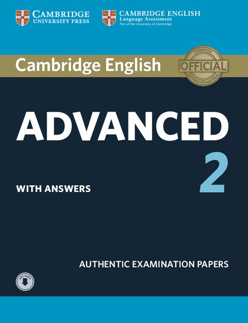 Cambridge English Advanced 2 Student's Book with answers and Audio advanced fundus of uterus examination and evaluation simulator fundus of uterus exam