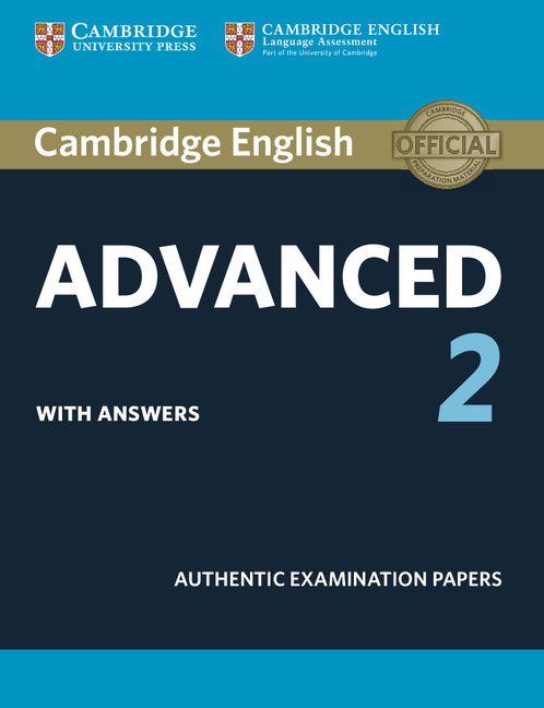 Cambridge English Advanced 2: Student's Book with Answers cambridge english preliminary 7 student s book with answers