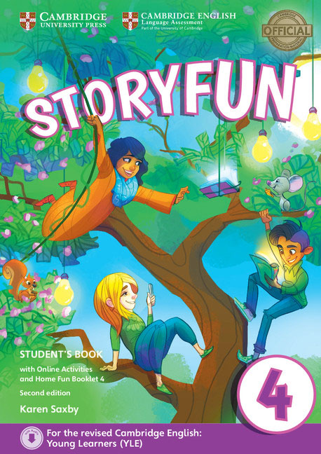 Storyfun for Movers: Level 4: Student's Book with Online Activities and Home Fun Booklet 3 1 phillip lim хлопковая блузка