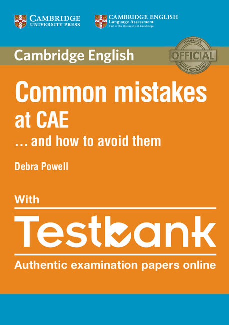 Common Mistakes at CAE ...and How to Avoid Them Paperback with Testbank common mistakes at pet and how to avoid them paperback with testbank