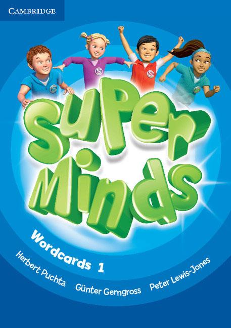 Super Minds Level 1 Wordcards (Pack of 90) super minds level 6 workbook with online resources