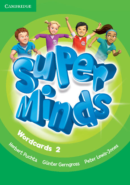 Super Minds Level 2 Wordcards (Pack of 81) super minds level 6 workbook with online resources