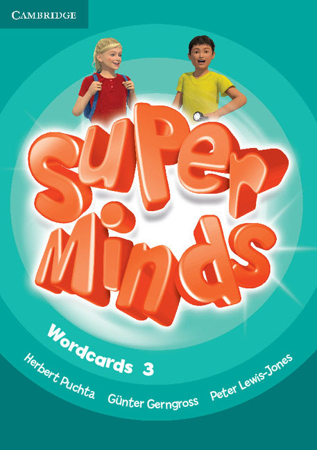 Super Minds Level 3 Wordcards (Pack of 83) super minds level 6 workbook with online resources