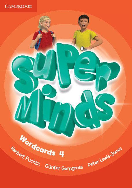 Super Minds Level 4 Wordcards (Pack of 89) simple minds simple minds sparkle in the rain 4 cd dvd