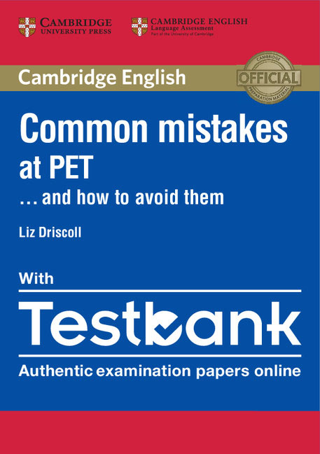Common Mistakes at PET... and How to Avoid Them Paperback with Testbank цены