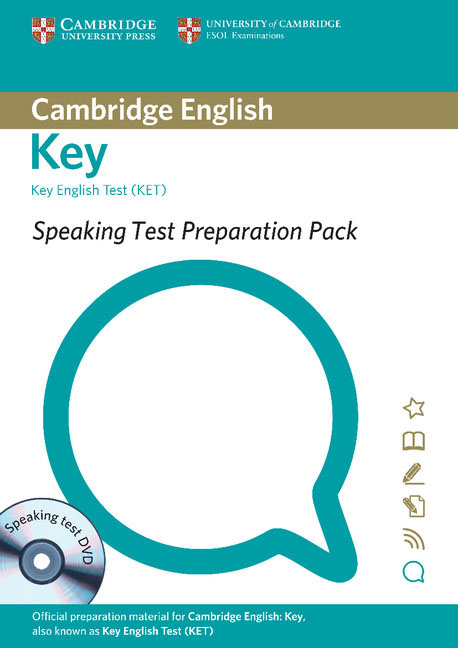 цена на Speaking Test Preparation Pack for KET Paperback with DVD