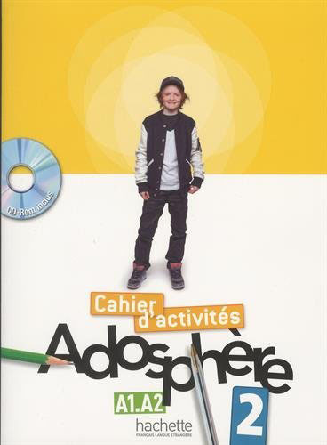 Adosphere 2: Cahier d'activites (+ CD-ROM) une page d