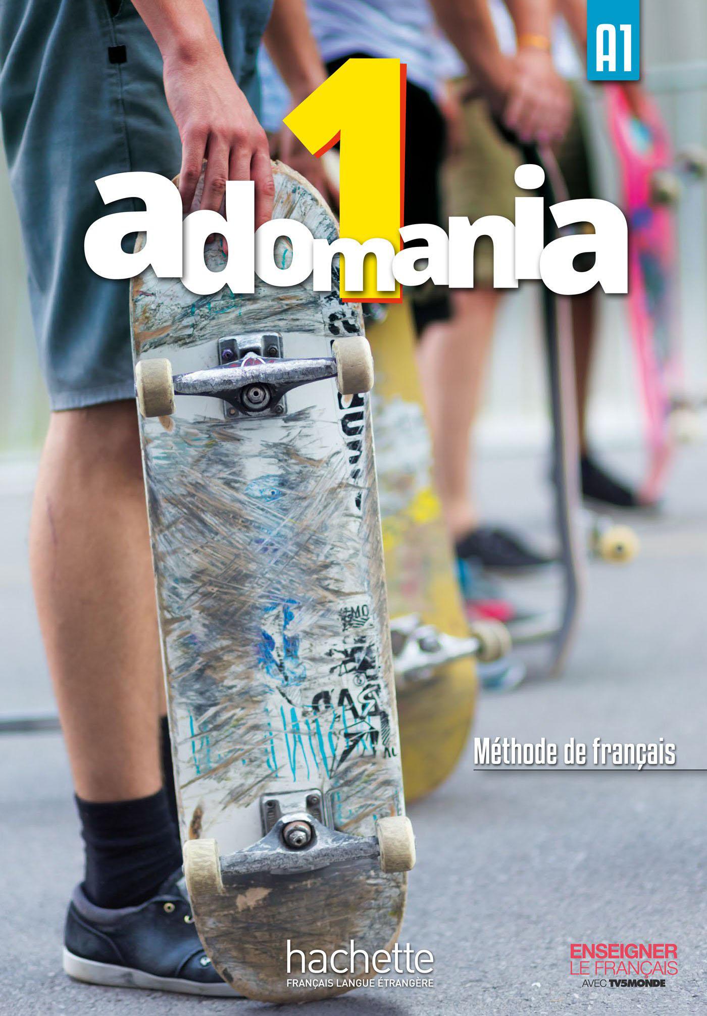 Adomania 1 Livre de l'eleve + CD-ROM (audio et video) en main history html page 8 page 2