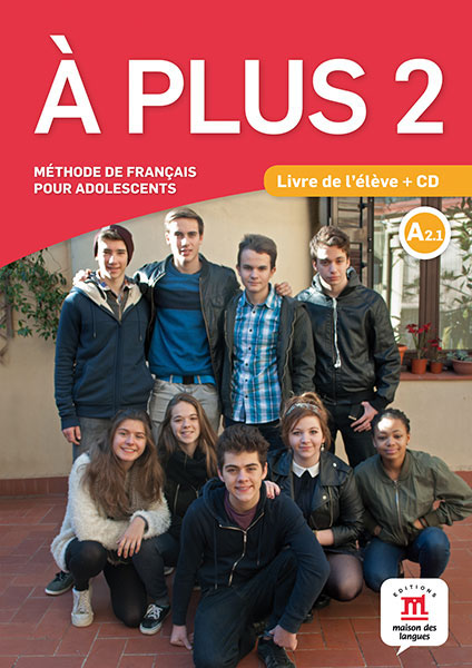 A plus ! 2 - Livre de l'eleve + CD it8712f a hxs