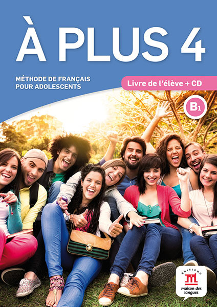 A plus ! 4 - Livre de l'eleve + CD it8712f a hxs