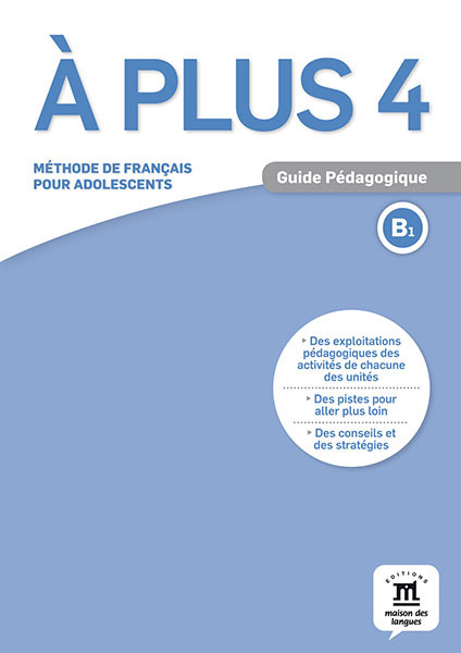A plus ! 4 - Guide pedagogique quartier d affaires 1 a2 guide pedagogique
