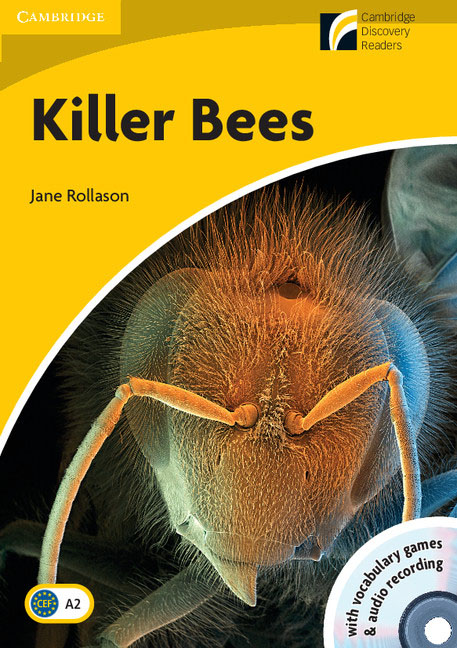 Killer Bees Level 2 Elementary/Lower-intermediate Book with CD-ROM/Audio CD redston c face2face intermediate students book with cd rom audio cd