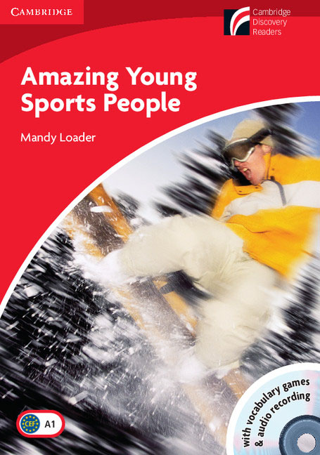 Amazing Young Sports People Level 1 Beginner/Elementary Book with CD-ROM/Audio CD Pack hot spot level 3 teacher s book cd rom