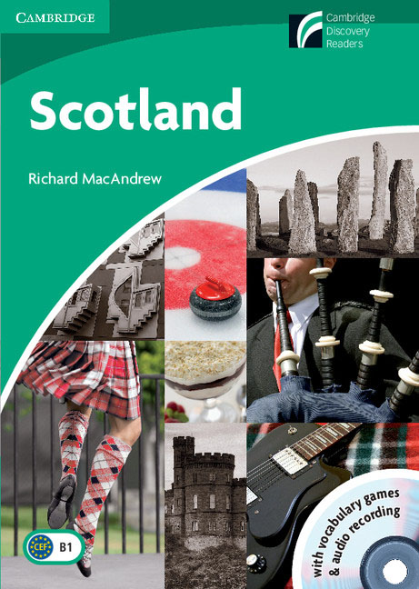 Scotland Level 3 Lower-intermediate with CD-ROM and Audio CD blue fins starter level cd rom